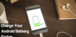 Charge Android Device Faster